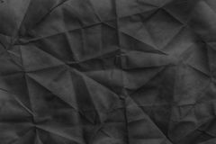 Old rumpled crumpled paper texture. Or background Royalty Free Stock Photos