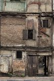 Old run down building in Pune, Maharashtra, India.  royalty free stock images