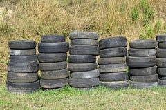 Old run down tires Stock Photos