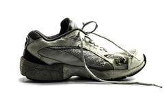Old running shoe Stock Photo
