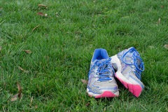 Old running sneakers Stock Photography