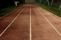 Old running track Royalty Free Stock Photos