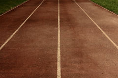 Old running track Stock Photos