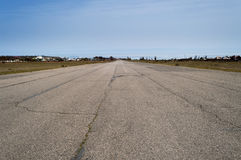 Old runway Royalty Free Stock Photo