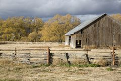 Old rural barn Royalty Free Stock Photos