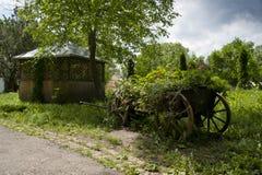 Old rural cart Royalty Free Stock Image
