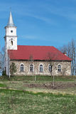 Old rural church Stock Image