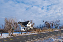 Old Rural Farmhouse Stock Photography