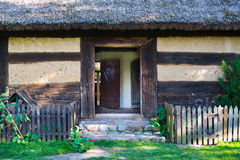 Old rural home in Poland Royalty Free Stock Images