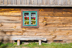 Old rural home in Poland Royalty Free Stock Photography