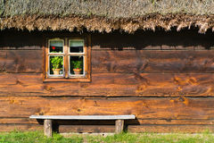 Old rural home in Poland Stock Photo