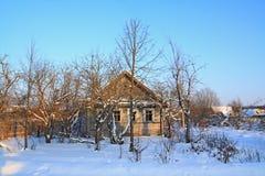 Old rural house Stock Photos
