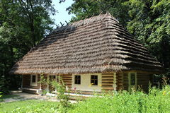 Old rural house in Carpathian region Royalty Free Stock Photo