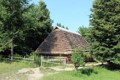 Old rural house in Carpathian region Stock Image