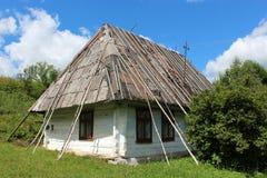 Old rural house in Carpathian region Stock Photos