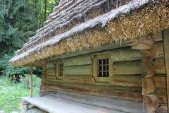 Old rural house in Carpathian region Royalty Free Stock Image