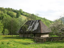 Old rural house Stock Images