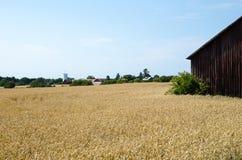 Old rural landscape Stock Photo