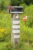 Old rural mailbox Stock Photography