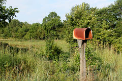 Old Rural Mailbox Royalty Free Stock Images