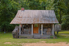 Old Rural Southern Log Cabin Royalty Free Stock Photo
