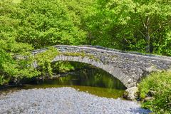Old rural stone bridge Royalty Free Stock Photography