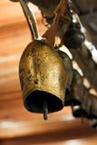 Old rural village bell Royalty Free Stock Photography