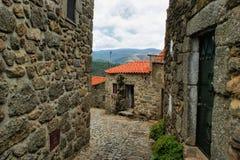 Old rural village of Linhares da Beira stock image