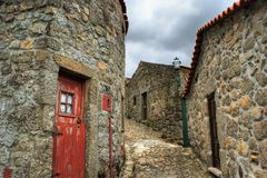 Old rural village of Linhares da Beira Royalty Free Stock Photography