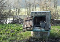 Old rural well Royalty Free Stock Images