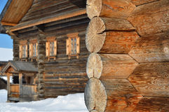 Old rural wooden building Stock Image