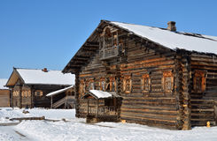 Old rural wooden house Royalty Free Stock Photos