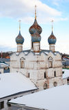 Old Russian Abbey Royalty Free Stock Photo