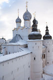 Old Russian Abbey Stock Photography