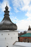 Old Russian Abbey Royalty Free Stock Images
