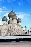 Old Russian Abbey Royalty Free Stock Photography