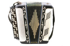 Old russian accordion Stock Images