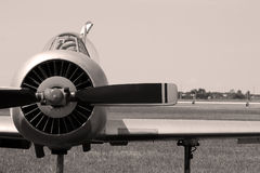 Old russian airplane Royalty Free Stock Images