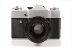 Old russian analog camera Royalty Free Stock Photo