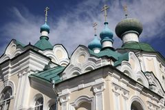 Old Russian architecture Royalty Free Stock Photography