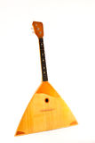 Old Russian balalaika Royalty Free Stock Photography