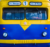 Old Russian bus Stock Image