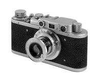 Old Russian camera FED. 1936 issue Stock Photos