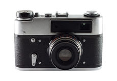 The old Russian camera. Royalty Free Stock Photo