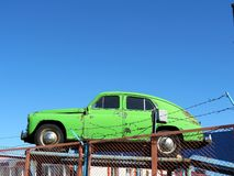 Old russian car Stock Photo