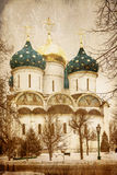Old russian church Stock Photography