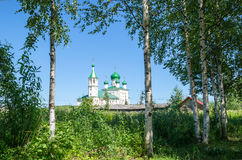 Old Russian Church Stock Photo