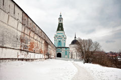 Old russian church in gloomy Royalty Free Stock Photo