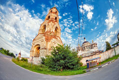 Old russian church Royalty Free Stock Photo