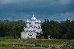 Old Russian church in Yaroslavl Royalty Free Stock Photography